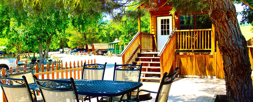Standard & Deluxe Cabin Lodges